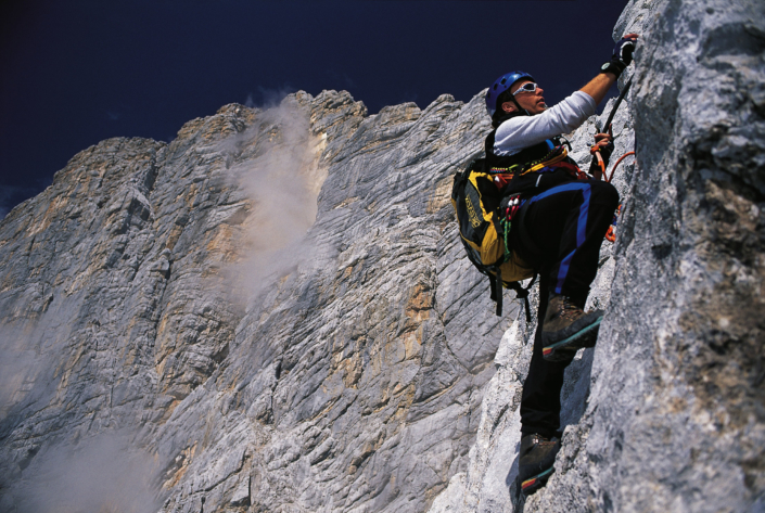Der Johann - Klettersteig durch die Dachstein Südwand