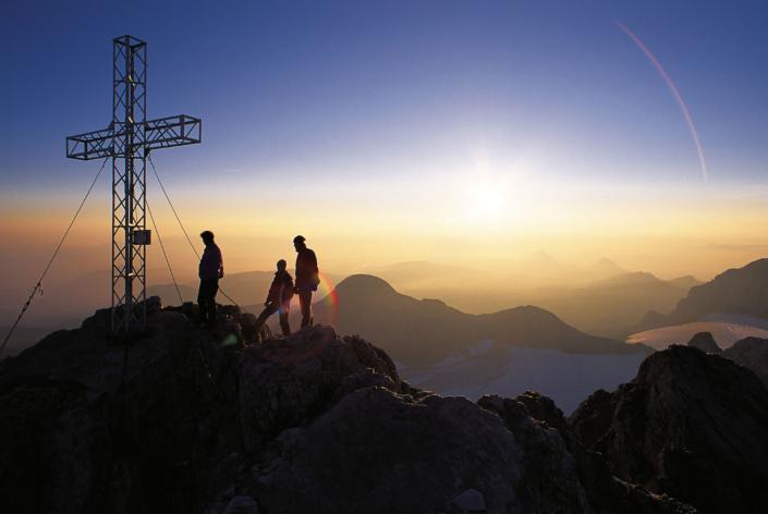 Sonnenaufgang am Dachstein