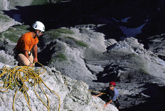 Bergsteigen am Dachstein
