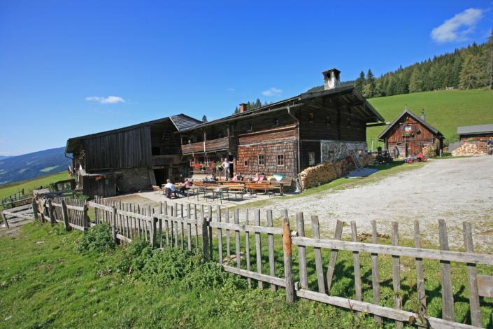 Die Halseralm am Rittisberg