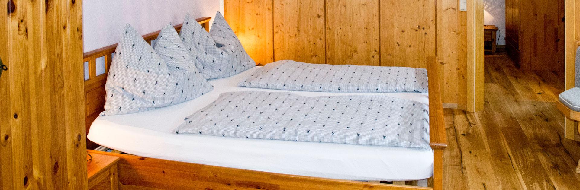 Waldesruh-Apartment Schlafzimmer