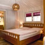 Waldesruh-Halseralm Apartment Schlafzimmer mit Bad